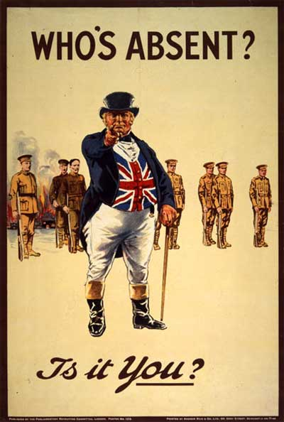 World War I-II Propaganda Posters