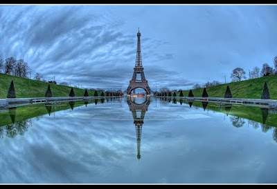 reflection of paris