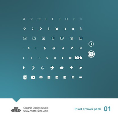 Pixel Arrows Pack
