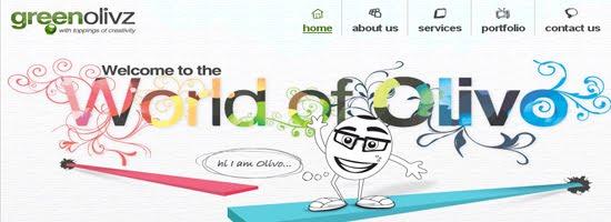 GreenOlivz Web Desig
