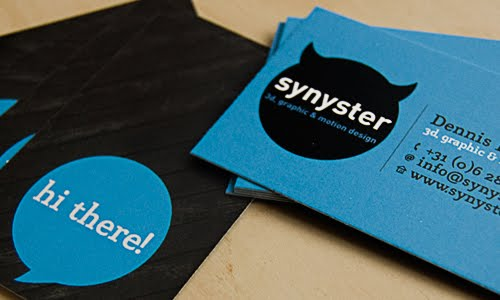 Synyster.nl business card