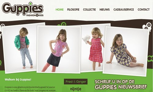 Guppies biedt u fashion for kids