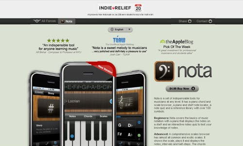 Nota iPhone App