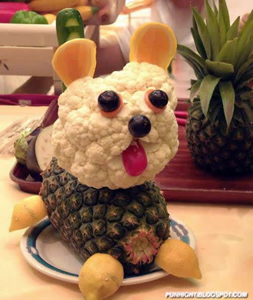 Incredibly Funny Food Art