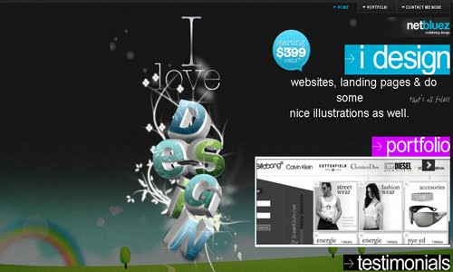 netbluez web design