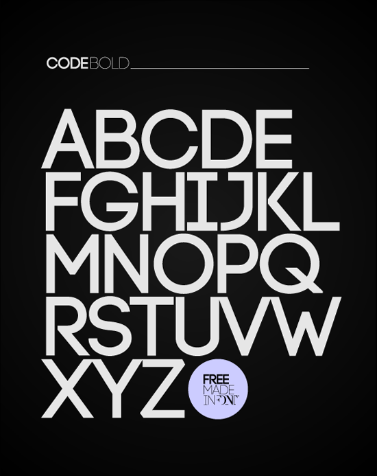 Code Free Font