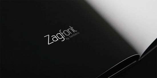Zag free font