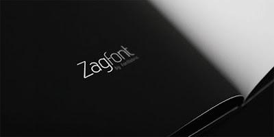 Zag free font