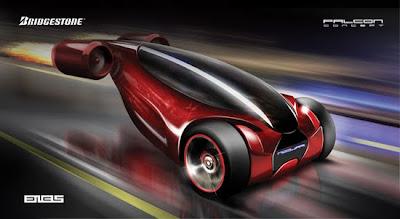 Bridgestone Falcon Concept Car 3