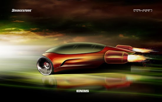 Bridgestone Falcon Concept Car 4