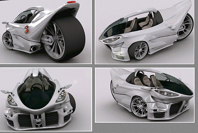 Vehicle Conceptuale 3d car design