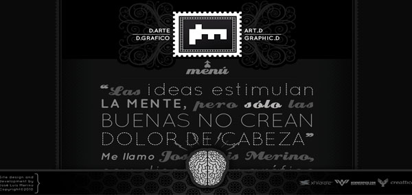 Josel Merino web design