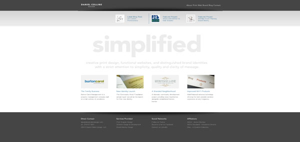 Daniel Collins web design