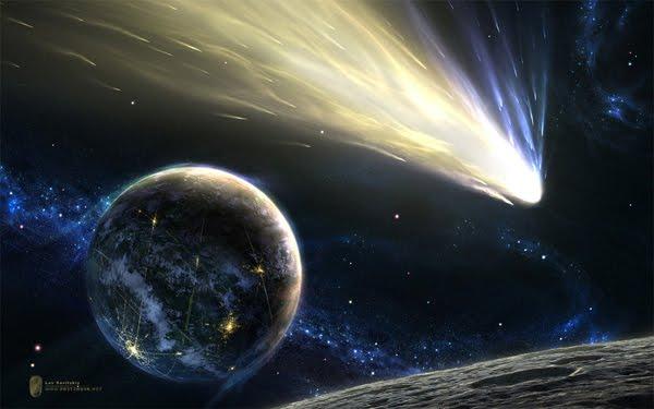 Light Up the Sky space art