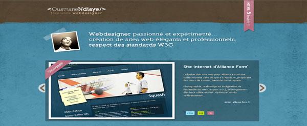 Ousmane Ndiaye, freelance french webdesigner
