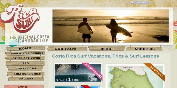 Rica Surf | Costa Rica Surf Vacations, Trips & Surf Lessons