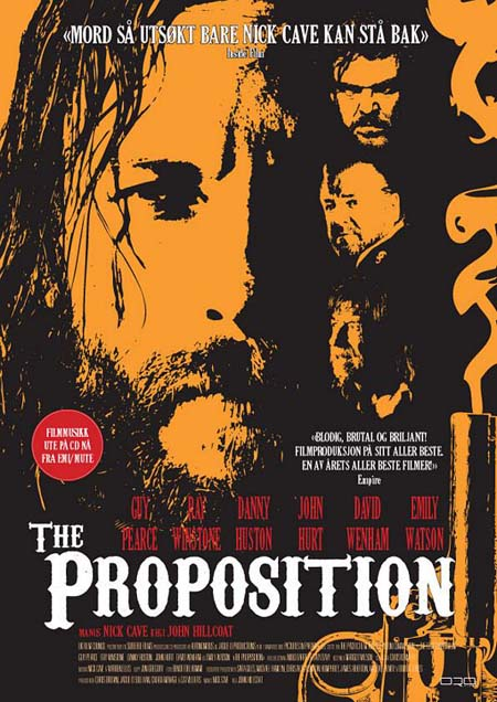 The Proposition retro vintage poster