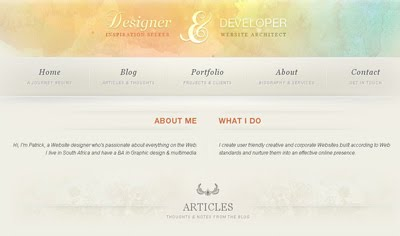 Digital Inspiration web design