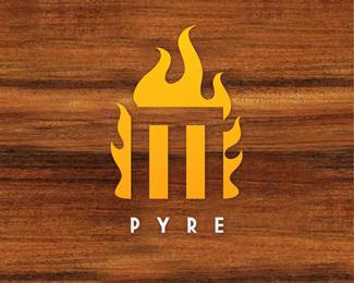 MPYRE Logo Design