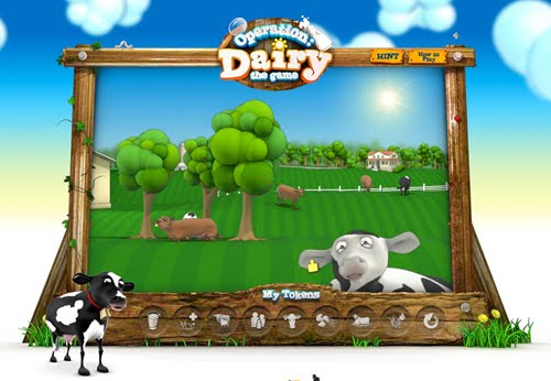 Operation Dairy Flash Website