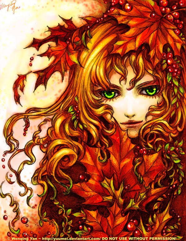 Autumn Spell by yuumei