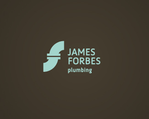 james forbes monogram logo design