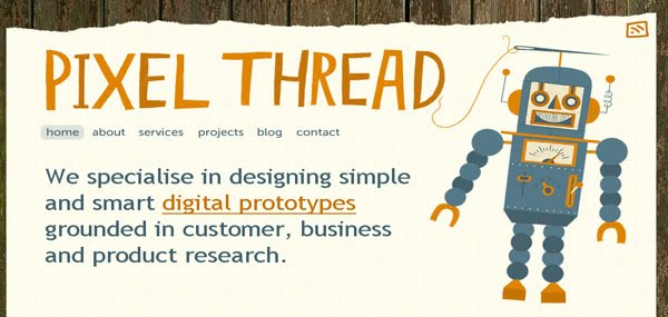 Pixel Thread Web Design