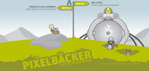 PIXELBÄCKER Web Design