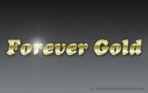 Luxury Golden Text Effect