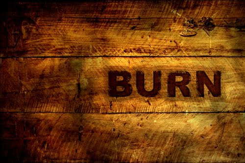 Burnt Wood Text Effect