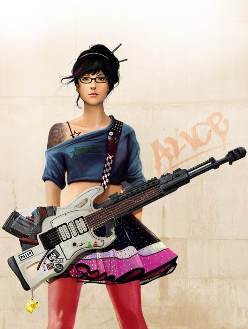 Alice and her Guitar