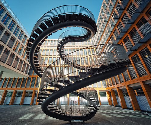 Endless stairs photo