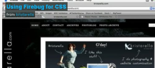 How to use Firebug for CSS