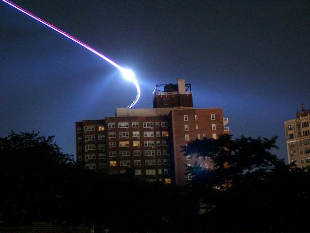 UFO over Prospect Park