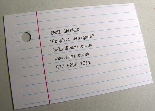 Emmi Salone Business Card