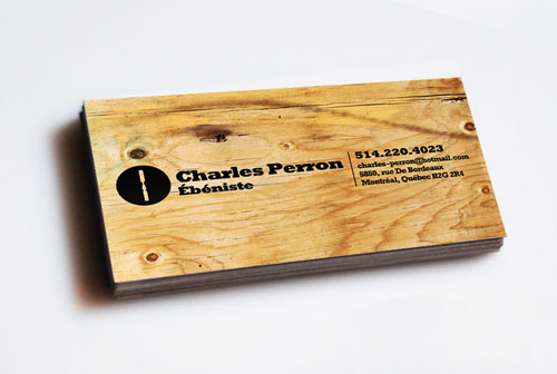 Craftsman's Business Card