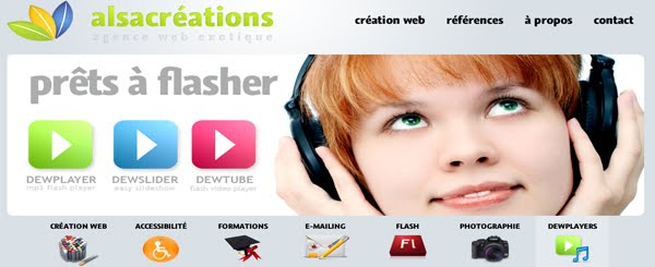 Alsacreations Web Design