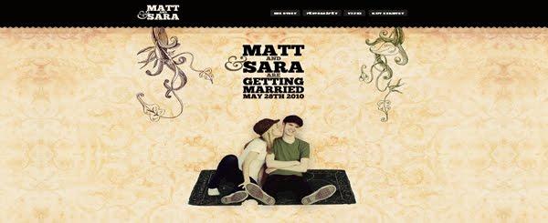 Matthew & Sara Web Design