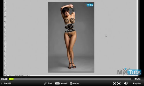 Create an Awesome Model Looking Like a Robot Photoshop Tutorial