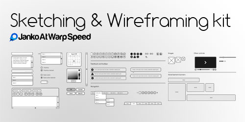 Free Sketching &amp; Wireframing Kit
