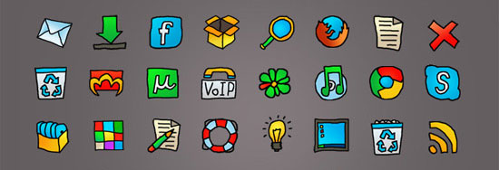 50 Amazing Free Icon Sets