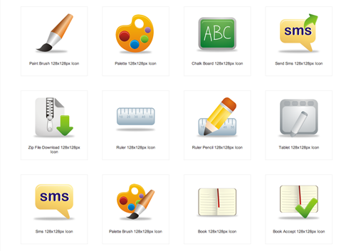 Free Office Stuff Icon Sets For Your Design