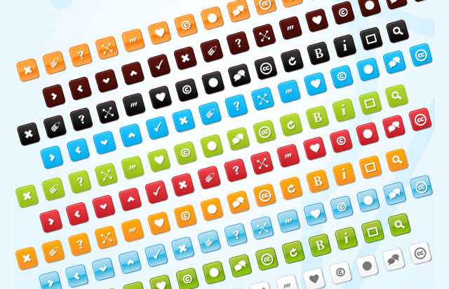 30 Fresh Icon Sets for Developers and Designers
