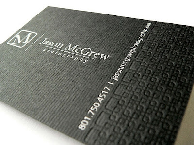 Letterpress Business Cards for Inspiration