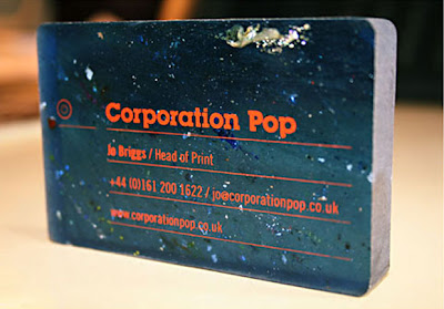 best foil blocked business card designs