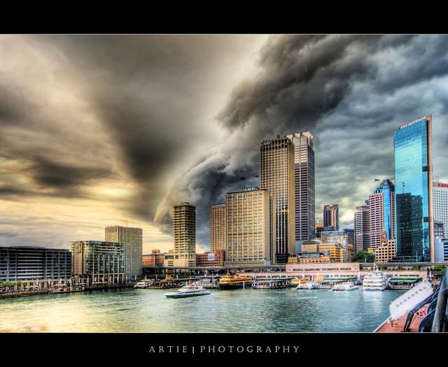 Sydney Under Severe Storm Attack