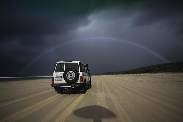 Moonbow = Rainbow