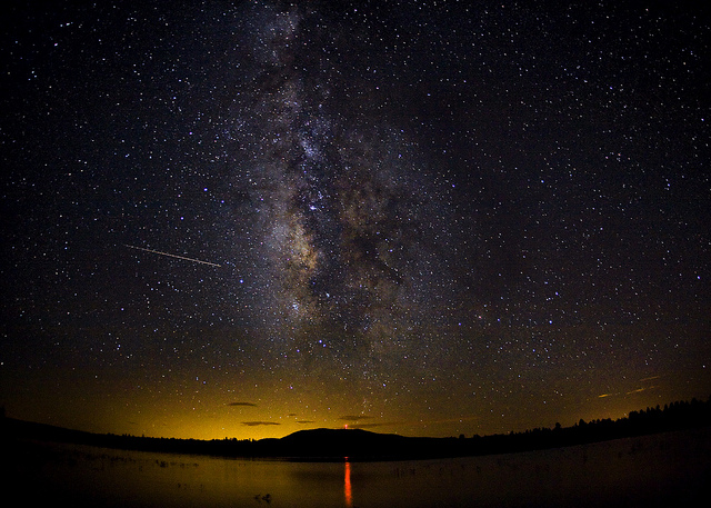 Milky Way over Lake Mary