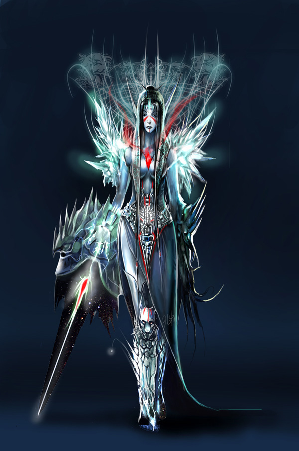 queen of night elves colored by flycan d36z3fd 13 20 Stunning Game Character Concept Arts