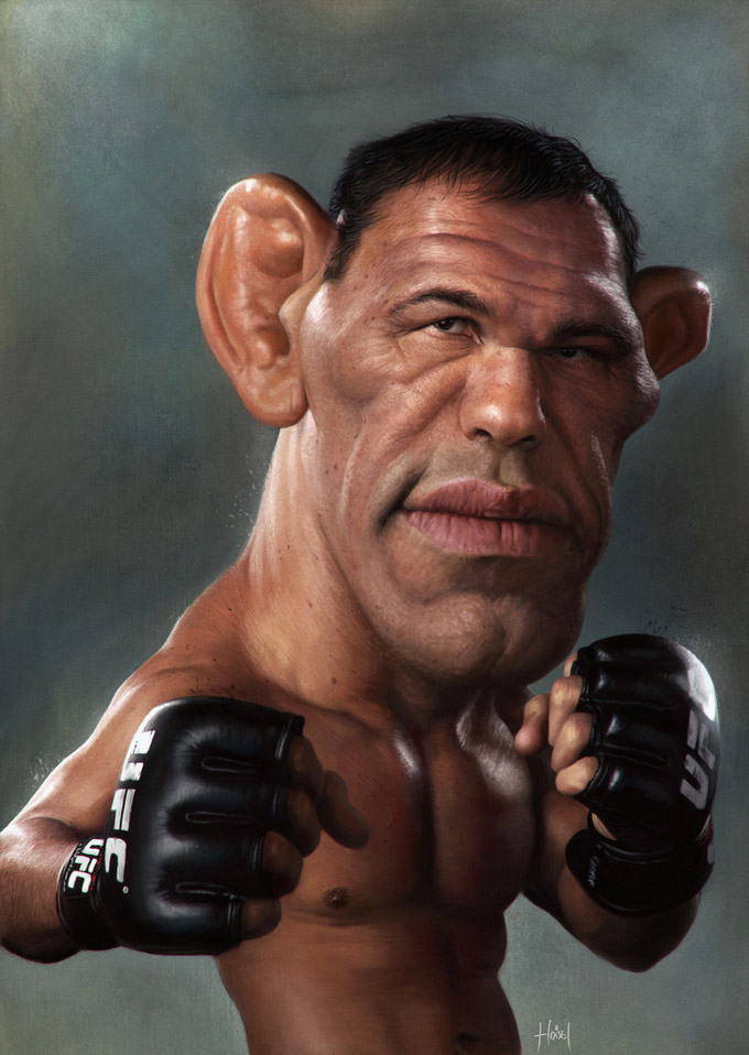 minotaur25 25 Hilarious Digital Caricatures Of Famous People